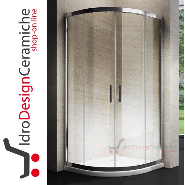 Box doccia semicircolare cristallo 6mm – design moderno ...