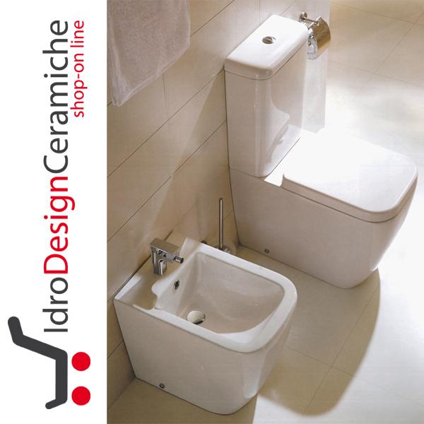 Sanitari a terra con wc monoblocco serie klass - Accessori bagno vendita on line ...