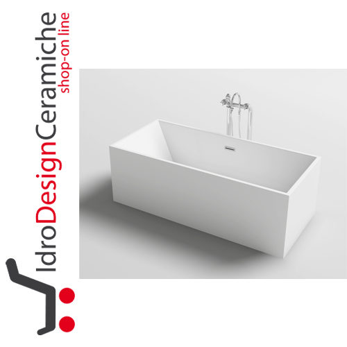 Vasca da bagno moderna in acrilico 180x90x58h mod trend - Vasca acrilico ...